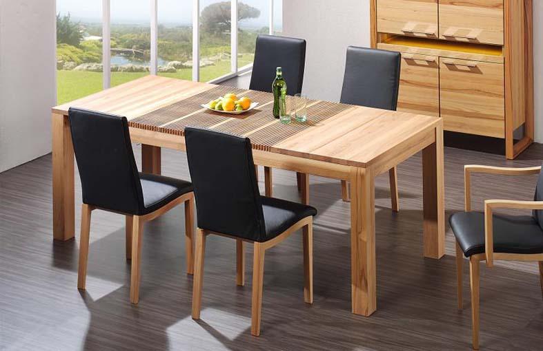 Houten eettafels stoelen groningen valhal