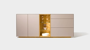 team dressoir cubus pure met design element
